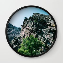 Eldorado Canyon State Park II Wall Clock