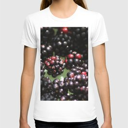 Freshly Grown Blackberries T-shirt