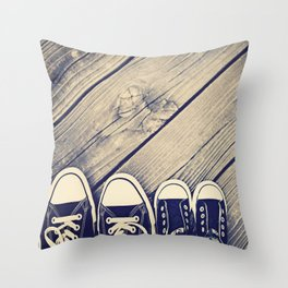Like Father Like Daughter Throw Pillow