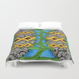 The Inky Forest Duvet Cover