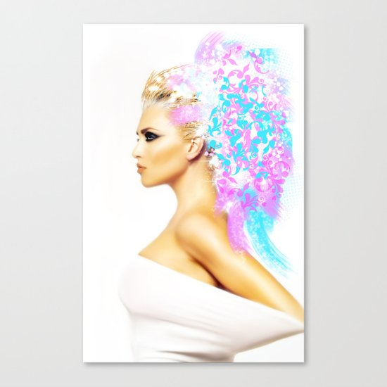 THE BRIGHT SIDE OF AN ANGEL Canvas Print