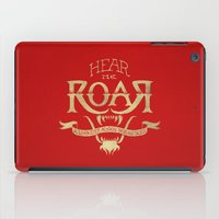 lannister iPad Cases featuring Game of Type by Jango Snow