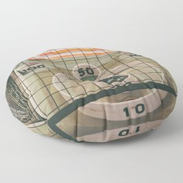 Skee Ball Game Floor Pillow