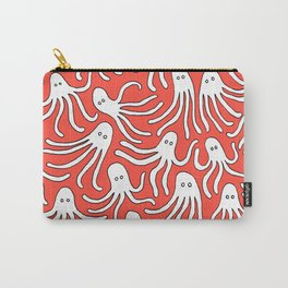 A Party of Handicapped Octopi III - Red-isch Carry-All Pouch