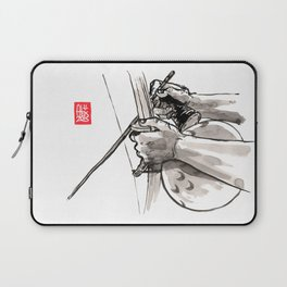 "Capoeira 482 ""Berimbau"" Laptop Sleeve"
