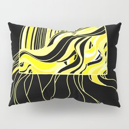 Swell Yellow Pillow Sham