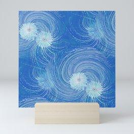 Galaxy Blues Mini Art Print