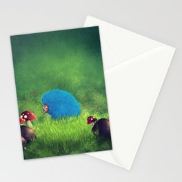 Blue Pet! Stationery Cards