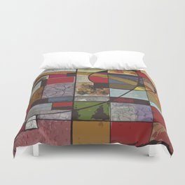 Circle of Colors Duvet Cover