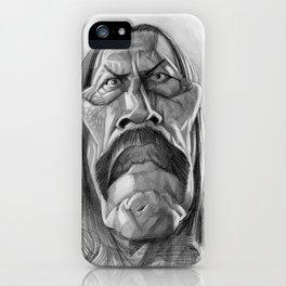 Danny Trejo, caricature. iPhone Case