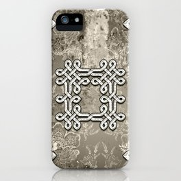 Wonderful celtic knot iPhone Case