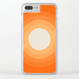 Moonspot - Creamsicle Clear iPhone Case