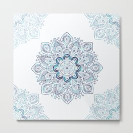 Icy Cold Outside Metal Print