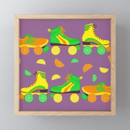 Fruit Roll Framed Mini Art Print