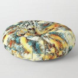 AnimalArt_Leopard_20170606_by_JAMColorsSpecial Floor Pillow