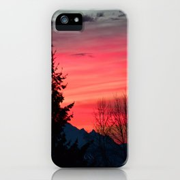 Morning Colors in the Sky iPhone Case