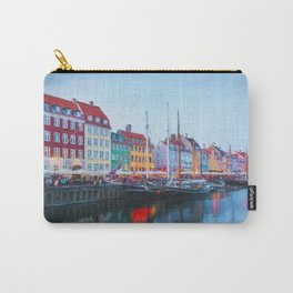 The Quay at Nyhavn, Copenhagen, Denmark Carry-All Pouch