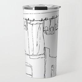 Brooklyn Clothesline Travel Mug