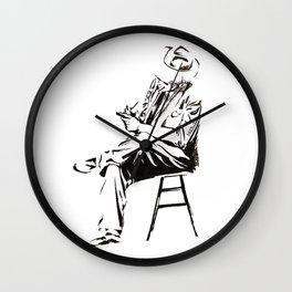 Journalist Wall Clock