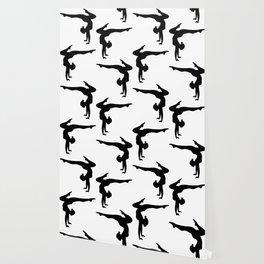 B&W Contortionist Wallpaper