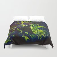 predator Duvet Covers featuring Thermal Predator by Marky Mark