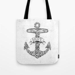 Hope Anchors Tote Bag