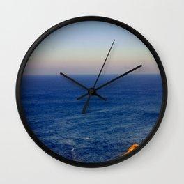 Beyond the blue Horizon Wall Clock