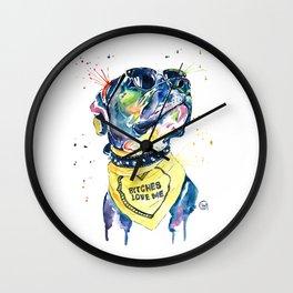 Pit Bull - Diesel Wall Clock