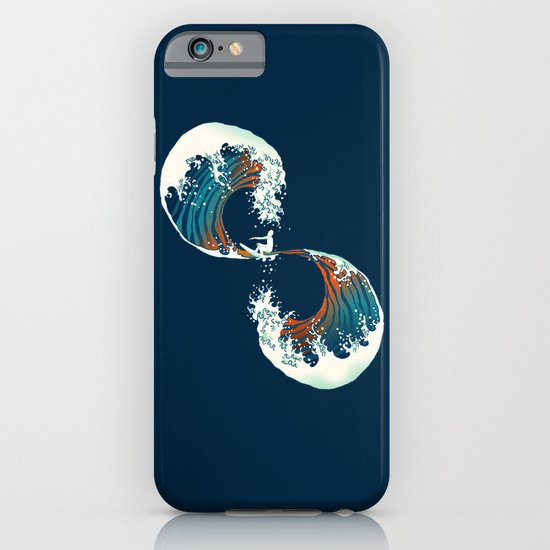 The Wave is forever iPhone & iPod Case