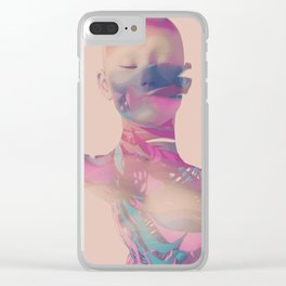 Whirlwind Clear iPhone Case