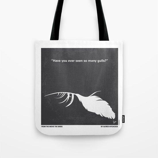 No110 My Birds minimal movie poster Tote Bag