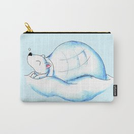 Home Sweet Igloo (North Pole) Carry-All Pouch