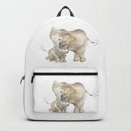 Mother's Love - Elephant Family Backpack