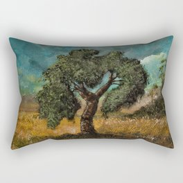 Thors Eik Tre Rectangular Pillow