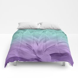 Agave Ocean Dream #2 #tropical #decor #art #society6 Comforters