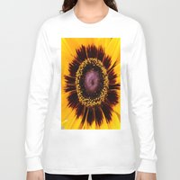 sunshine Long Sleeve T-shirts featuring SUNSHINE by Annie Koh