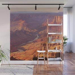 Grand Canyon at Sunset in Pastel Colors Wall Mural