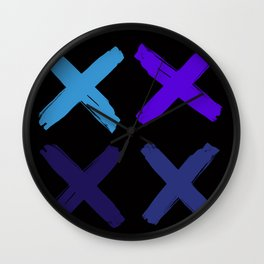 Crosses Wall Clock