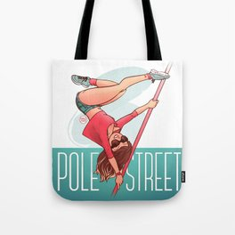 Pole Friends - Street Handspring Tote Bag