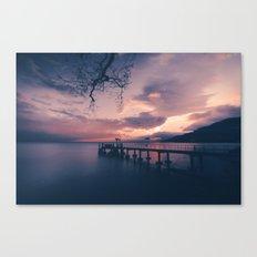 L'embarcadère Canvas Print