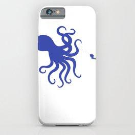 Octopus Kraken Sea Monster  Cthulhu Diver Gift iPhone Case