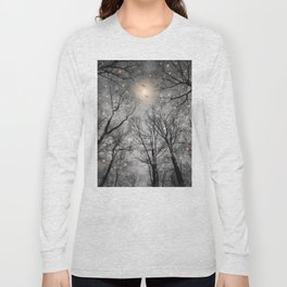 Nature Blazes Before Your Eyes 2 (Ash Embers) Long Sleeve T-shirt