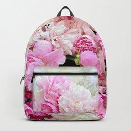 summer peonies Backpack