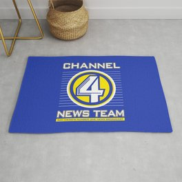 Channel 4 News Team Rug
