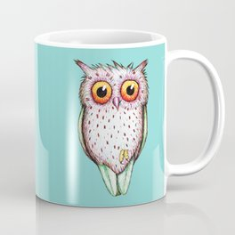 Cute colored owl Coffee Mug