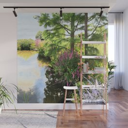 Hyde Hall in the blush of a summer Wall Mural