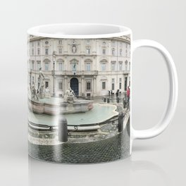 3 legged man in Piazza Navona Rome Italy Coffee Mug