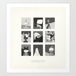 Super Mercredi Bros Heroes (4/8) Art Print