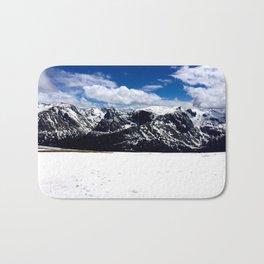 The Rocky Mountains Bath Mat