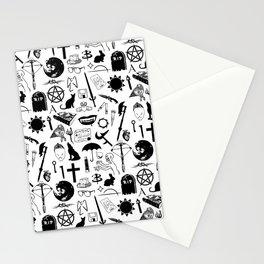 Buffy Symbology, Black Stationery Cards